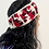 Thumbnail: Hand Knitted 100% Wool Lined Head bands with Flower Design