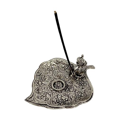 Handmade Leaf Style Elephant Incense Burner/Metal Incense Burner/Cone Incense Bu