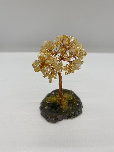 "4"" Citrine Prosperity Bonsai Tree"