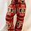 Thumbnail: Handmade Multiprint Blue Wool Pant