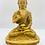 """Thumbnail: 7"""" Handmade Blessing Buddha From Nepal, Amoghsiddhi Buddha, Buddha,Peaceful Budd"""