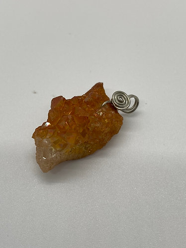 Raw Calcite Pendant