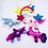 Thumbnail: Handmade Felt Unicorn Mobile,  Nursery Decor Mobile,Crib Mobile,Nursery Mobile,