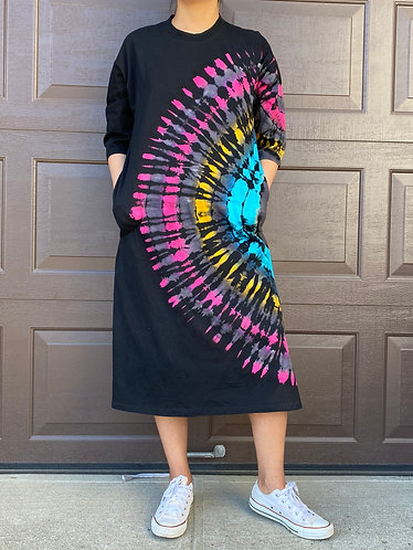 Tyedye Jersey Cotton Dress