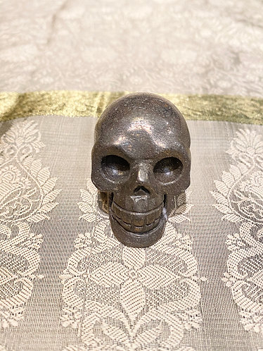 Handmade Pyrite Skull