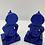 Thumbnail: Blue Hanuman Statue from Nepal, Monkey God, God of Honesty Loyalty, Resin Hanuma