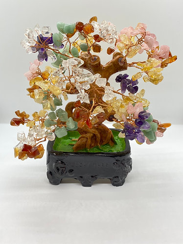 Seven Chakra Prosperity  Bonsai   Tree