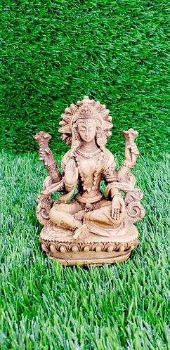Handmade Lakshmi Statue/Laxmi Statue/Goddess of Wealth/Abundance/Fertility/Prosp