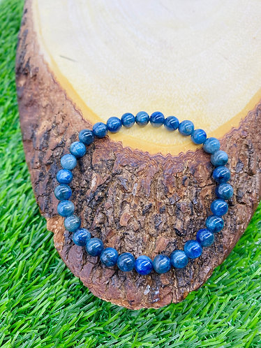 Handmade Kyanite Gemstone Bracelet/Healing, Meditation/cleansing Bracelet