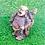 "Thumbnail: Handmade Laughing Buddha from Nepal, 3.5"" Happy Buddha, GoodLuck Gift, Abundance"