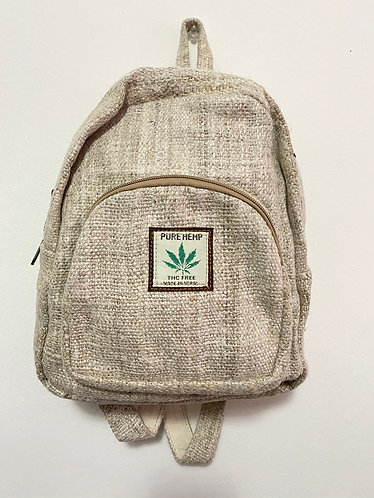 Handmade Mini Hemp Back Pack