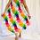 Thumbnail: Colorful Printed Summer Dress/Slit Dress/Beach Coverup