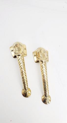 "9"" Handmade Elephant Design Brass Door Handle/Knob, Home Decor,Vintage Antique S"