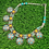 Thumbnail: Turquoise Coral Amber  Ethnic Necklace