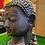 "Thumbnail: Handmade Brass Buddha Head Statue,12"" Buddha Tranquility Head, Lord Buddha Statu"
