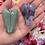 Thumbnail: Crystal Guardian Angel, Handmade Amethyst, Aventurine Guardian Angel,Carving Gif