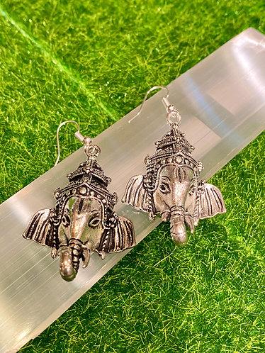 Handmade Ganesh Earring from Nepal