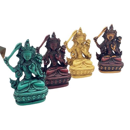 Small Manjushree Statue, God of Wisdom