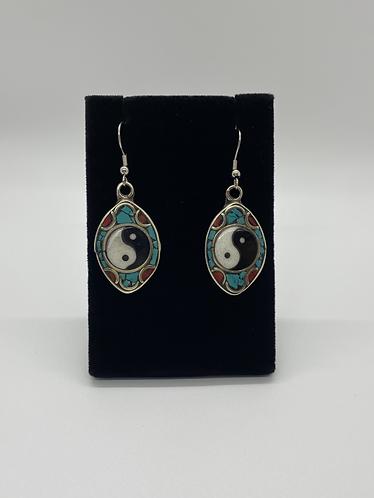 Ying Yang Earring