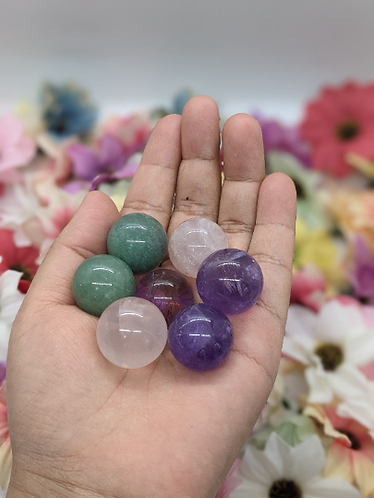 MiniCrystal Ball/Crystal Sphere/20mm Crystal Ball/Healing Crystal