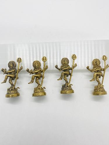 Brass Standing Shiva Statue, Shiva Alter Statue, Handmade Shiva, Shiva Figurine,