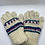 Thumbnail: Hand Knit 100% Merino Wool  Multi Color Gloves , Fleece Lined Nepalese Winter Gl