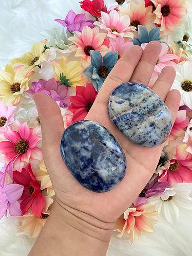 Sodalite Palm Stone,Stone For Self Esteem