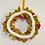 Thumbnail: Handmade Felt Flower Wreath, Wreath, Christmas Decor, Home Decor, Modern Wreath,
