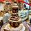 Thumbnail: Handmade Buddha Stupa Statue from Nepal, Buddha Stupa with Four Buddha, Medicine