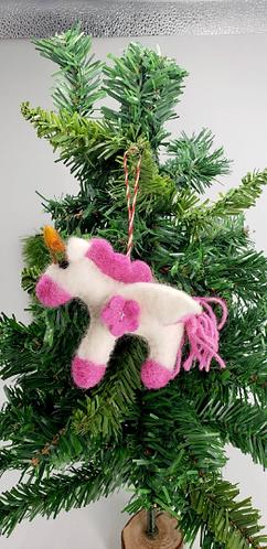 Handmade Felt Christmas Ornaments, Christmas Tree Decor, Felt Ornaments from Nep