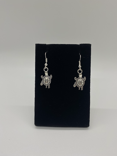 Turtle Prosperity Earring