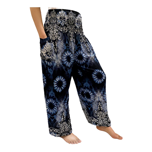 Summer Floral Printed Light Weight Yoga Pant