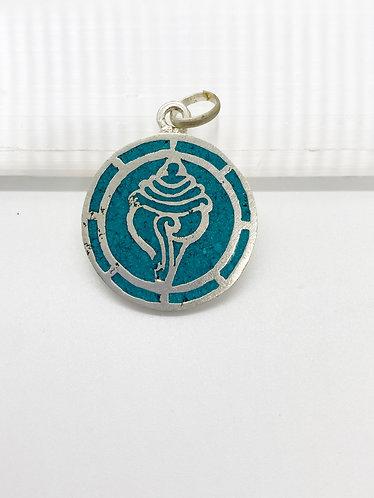 Handmade Tibetan Conch/Shell Pendant