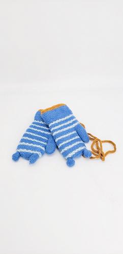 Toddler Fleece Lined  Multicolor Mitten, Boy/girls Fleece Gloves, Winter Toddler