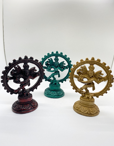 Handmade Dancing Shiva/Nataraja Statue, Indoor-outdoor Natraj Statue, Yoga Studi