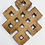 Thumbnail: Handmade Buddhism Infinity Symbol Hanging, Endless Knot Wall  Hanging, Wooden In