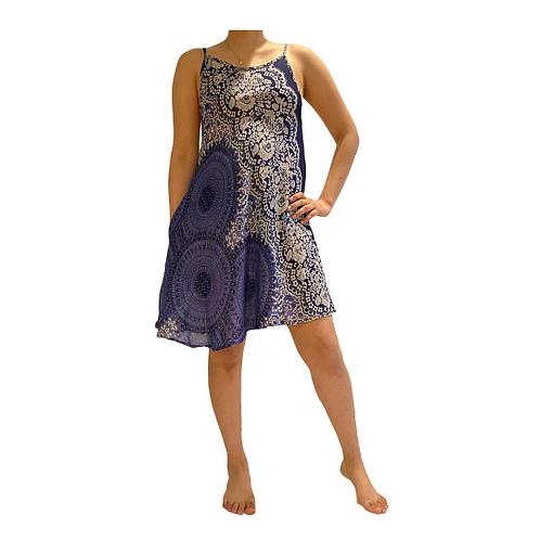Cute Jumper Petite Dress/Geometry Print Dress