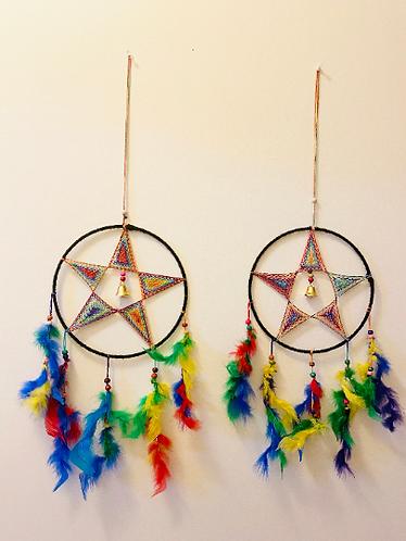 Handmade Multicolored Dreamcatcher