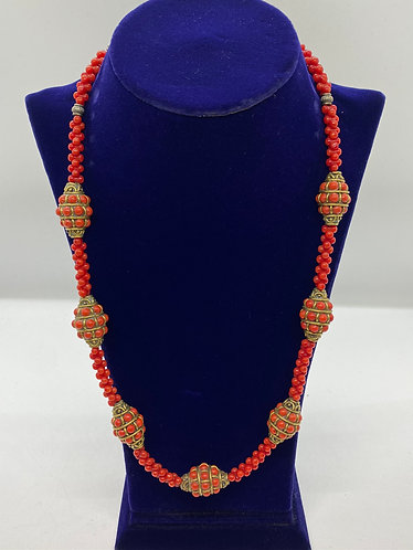 Authentic Coral Handmade Necklace