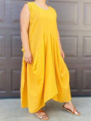 Organic Cotton Kaftan Dress,Oversized Long Dress