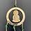 Thumbnail: Brass Windchime with Buddha