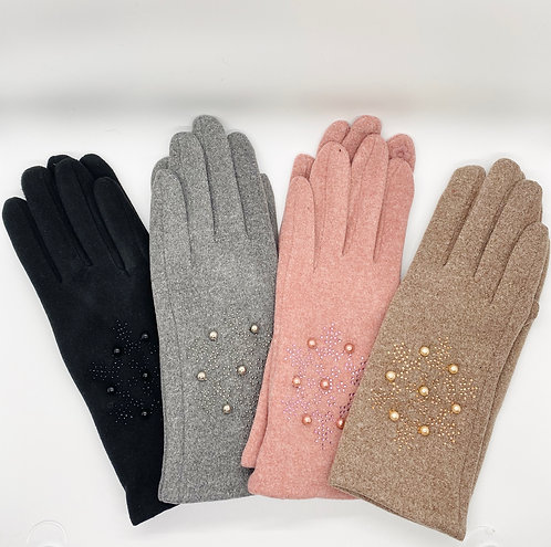 Winter Touch Screen Gloves for Women with Fleece Lining