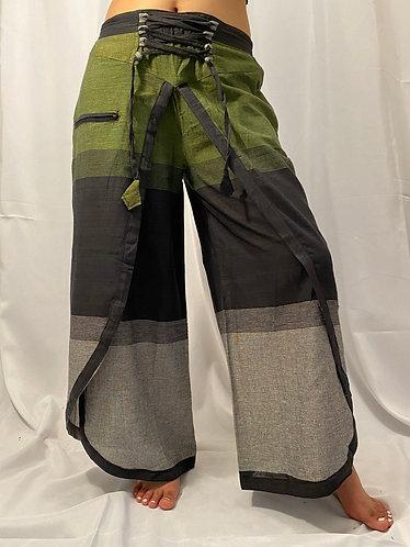 Nepali Cotton Printed  Double Layers Plazzo Pants
