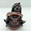 Thumbnail: Handmade Kubera Statue from Nepal,Tibetan Buddhist God of Wealth,Gold Plated God