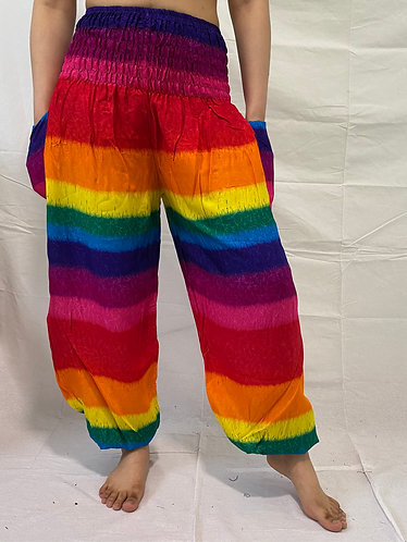 Rainbow Color Yoga Pants