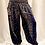 Thumbnail: Peacock Print Bohemian Harem Pant