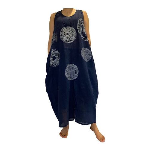 Soft Cotton Long Dress/Bohemian Dress/Hippie Dress/Solid Color Dress/Summer Maxi