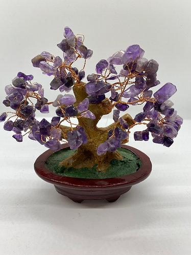 Amethyst Prosperity Bonsai Tree