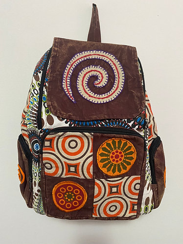 Handmade Cotton Back Pack