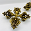 Thumbnail: Handmade Brass DoubleVajra,Tibetan Vajra,Vajra Dorje,Buddhist Meditation Tool,Al